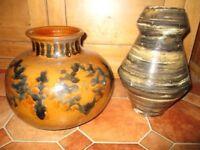 Unusual ceramic pots