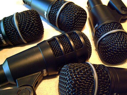 Superlux 5pc Drum Microphones