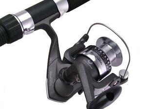 SAMBO LIGHT SURF FISHING ROD AND REEL COMBO 8' 10kg BEACH ROCK SPINNING SALMON