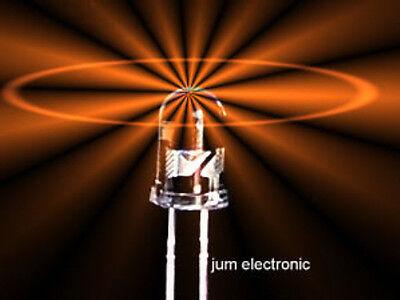 50x amber 3mm LED 2000mcd Mcd Led