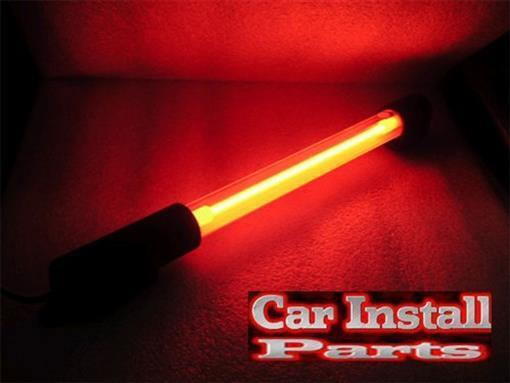 Glow N Street Neon Car Lighting 2 8 Inch RED Neons