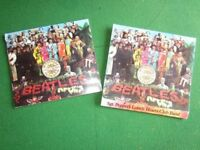 Sgt Pepper CD cover and booklet