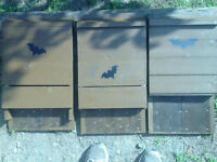 Bat Houses - Natural Mosquito Control