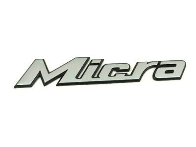 Genuine Nissan Rear Boot /'Micra/' K12 Chrome Badge Emblem New 90892AX600