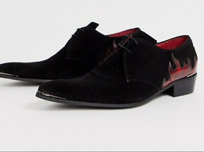 Jeffery West black suede Boots Size Uk 11