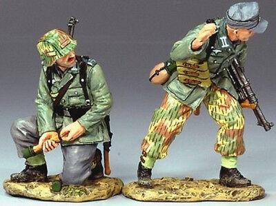 KING & COUNTRY WW2 GERMAN ARMY WS117 WEHRMACHT GET READY MIB