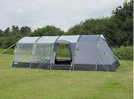 Kampa Croyde 6 tent complete with footprint and vestibule EXCELLENT CONDITION only used TWICE.