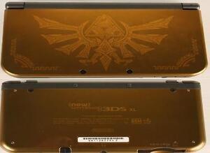 New Nintendo 3DS XL Edition Zelda (A024193)