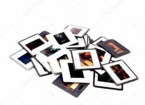 Je numérise (scan) vos diapos, photos, négatif