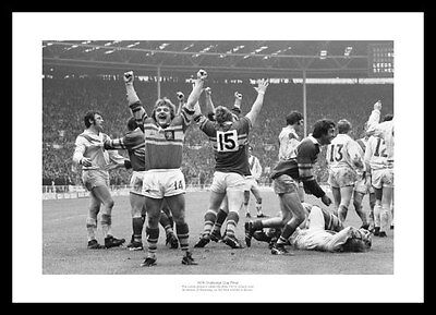 Leeds 1978 Rugby League Challenge Cup Final Team Photo Memorabilia (710) ()