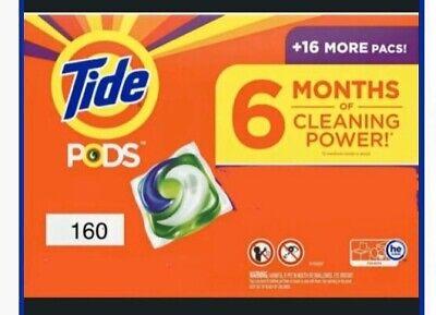 160 Ct Tide PODS He Laundry Detergent Pacs,