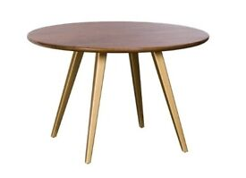 "New, Boxed BAKER BOXER 120CM (4'0"") CIRCULAR DINING TABLE"