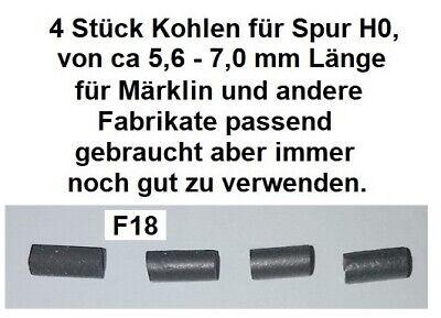4 Stück Kohlen für Spur H0 für Märklin und andere Fabrikate passend          F18