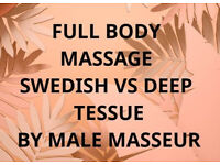 Full Body MASSAGE by Male Masseur - KINGS KROSS / Caledonian Rd.