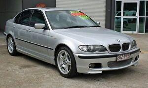 2004 BMW 318I E46 Sport Silver 5 Speed Automatic Sedan Ashmore Gold Coast City Preview