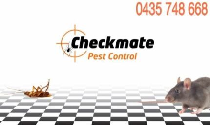CHECKMATE PEST CONTROL - TERMITE TREATMENTS