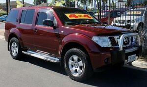 2005 Nissan Pathfinder R51 ST (4x4) Burgundy 6 Speed Manual Wagon Hillcrest Port Adelaide Area Preview