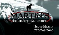 Horse Trailering - safe and insured