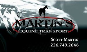 Horse Trailering - safe, reliable, and insured