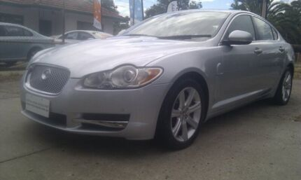 2009 Jaguar XF MY10 3.0 V6 Diesel S Luxury Silver 6 Speed Automatic Sedan Para Hills West Salisbury Area Preview