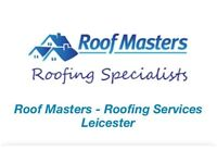 Roofer in Leicester , roof repairs , flat roofs , gutters ,