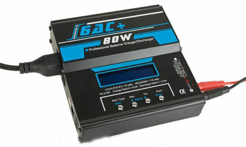 Ipower 6AC PRO 80W/5A Computer Battery Balancer Charger (NiCd NiMh LiPo LiIon)