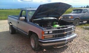 Looking for the 1988 Chev 1500 in Redvers!