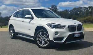 2017 BMW X1 F48 sDrive 18D White 8 Speed Automatic Wagon