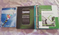 UPEI Textbooks: Psychology and Business