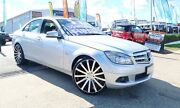 2010 Mercedes-Benz C200 CGI W204 MY10 Classic Silver 5 Speed Sports Automatic Sedan Woodridge Logan Area Preview