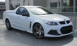 2015 Holden Special Vehicles Maloo GEN-F2 MY16 R8 LSA Heron White 6 Speed Manual Utility West Perth Perth City Area Preview