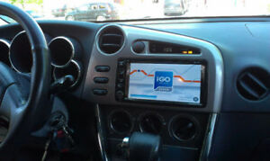 OEM TOYOTA MATRIX DVD GPS BLUETOOTH INCLUDING INSTALL $499