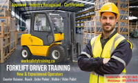 Forklift Training - New Operators or Experienced from 30% off