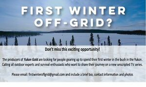 OFF-GRID THIS WINTER??