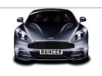 Private number plate Registration plate Racer Racing Ford Focus Fiesta ST RS VXR SRI CDi Corsa Astra
