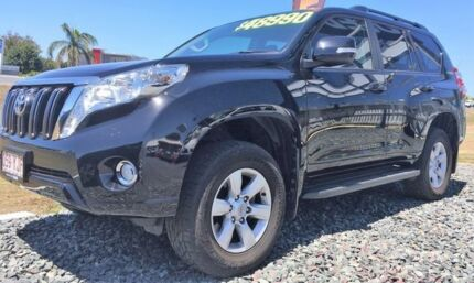 2014 Toyota Landcruiser Prado KDJ150R MY14 GXL Black 5 Speed Sports Automatic Wagon Mackay Mackay City Preview
