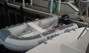inflatable boat davits for dinghy storage on yacht swim platform North Shore Greater Vancouver Area image 4