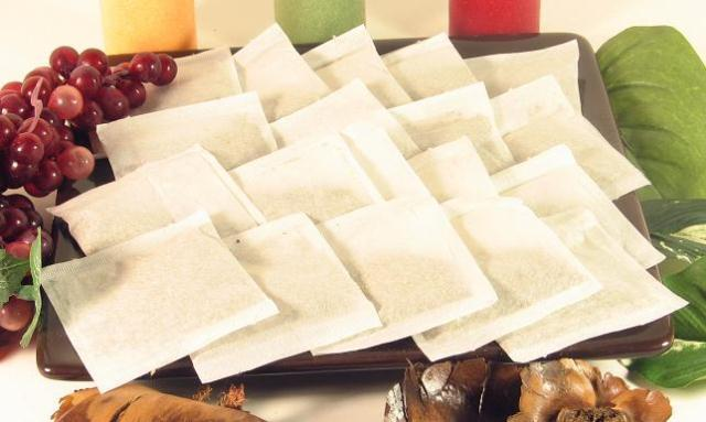 100 pcs Empty Teabags Heat Seal Filter Paper Herb Loose 2.5 x 2.75' Tea