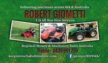 Refurbished & New  Ride on  Zero Turn mowers & Tractors Eden Hill Bassendean Area Preview