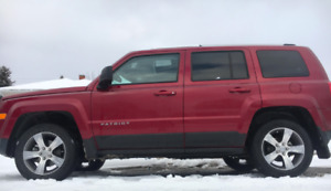 2017 Stunning High Altitude Jeep Patriot With Hatch Back