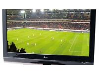 """40"""" LG LCD TV BUILTIN FREEVIEW FULL HD USB PORT GOOD WORKING ORDER & CONDITION CAN DELIVER BARGAIN"""