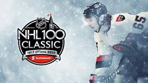 2017 NHL100 Classic Tickets, Montreal vs. Ottawa