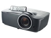 """Optoma HD151X Projector + 120"""" Screen & extras *Perfect Condition*"""