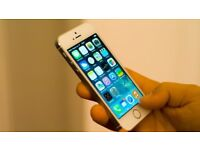 iPhone 5S - Silver & White - 16GB - EE/ T-Mobile/ Orange/ Virgin Mobile/ Asda / BT----Fully Working