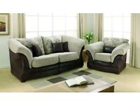 Excellent condition large 2 seater sofa and 1 chair