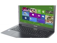 Asus F553M Laptop Slim Notebook + Webcam, Win10 Pro, 4GB RAM, 300GB HDD
