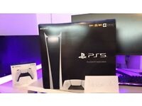 Sony PS5 Digital Edition Console - White (PlayStation 5)