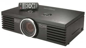 Panasonic AE-4000 Projector and screen