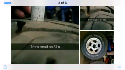 F100 rims and tyres