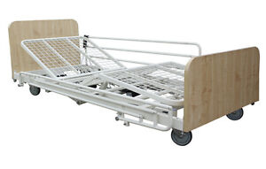 Electric adjustable hospital bed (NEW) with all accessories included